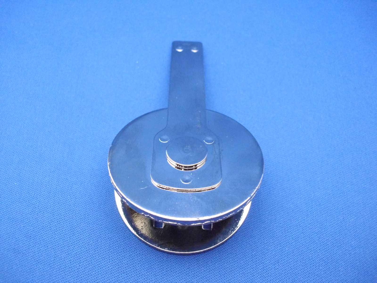 Druckplatten lasergrav Shiny® Prägeeinsatz komplett rund Durchmesser 50mm